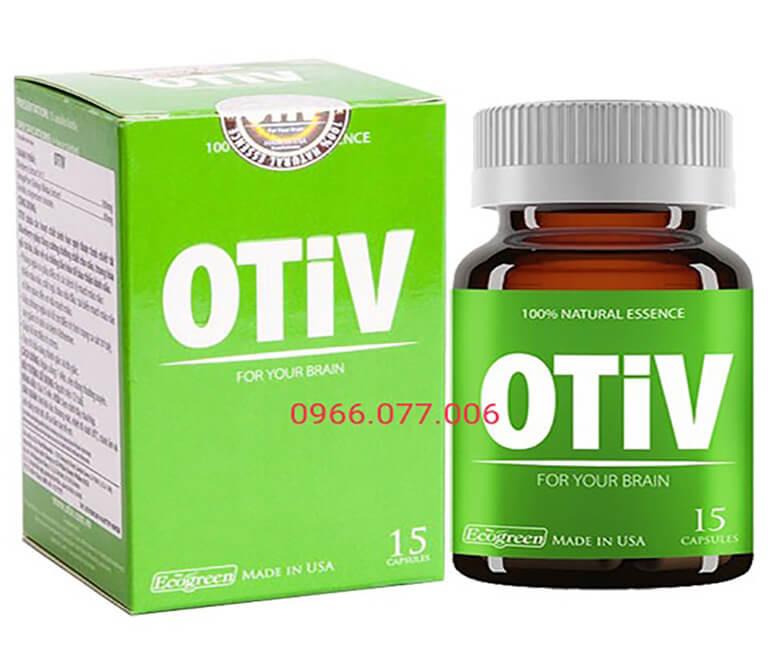 Thuốc ngủ Otiv