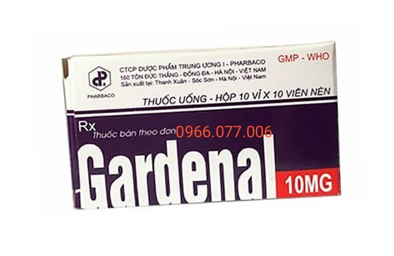 Thuốc ngủ Gardenal 10mg