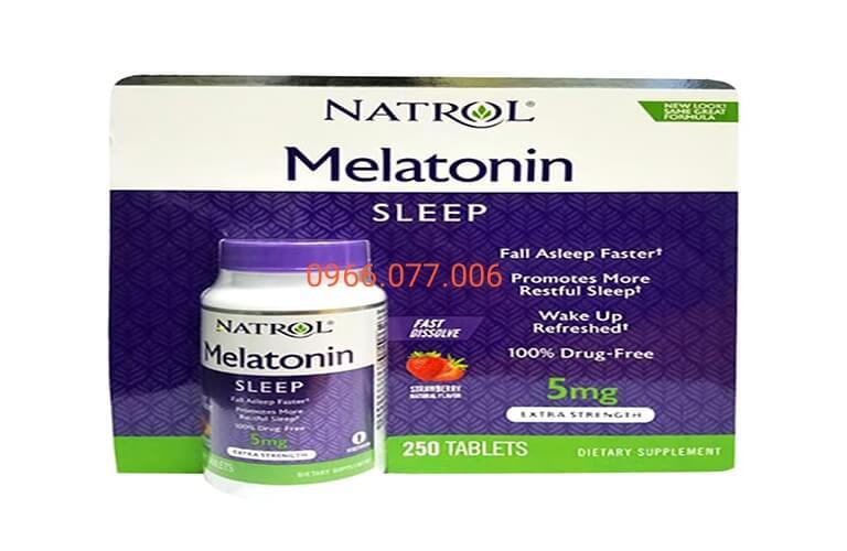 Thuốc ngủ Melatonin điều hòa giấc ngủ