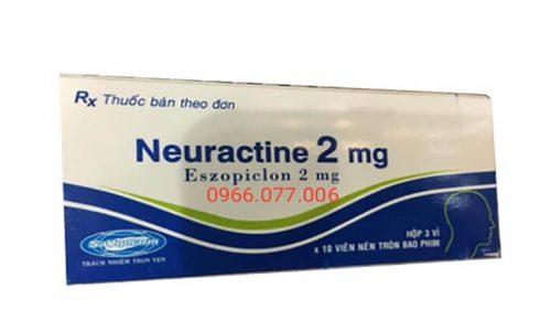 Thuốc Ngủ Neuractine 2mg: Tác Dụng, Giá Bán, Địa Chỉ Bán