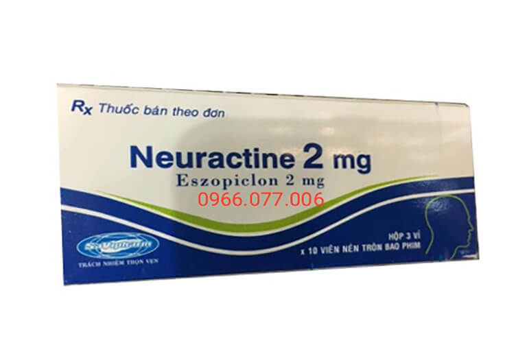 Thuốc ngủ Neuractine 2mg ổn định giấc ngủ