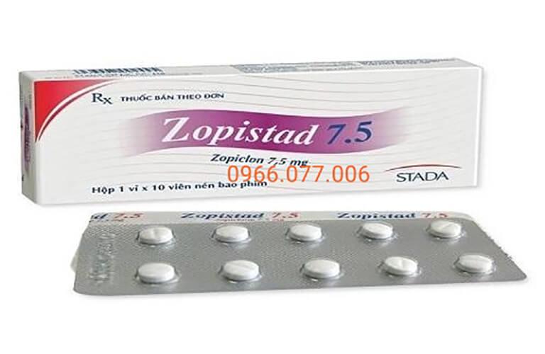Thuốc ngủ Zopistad 7.5 - Điều trị mất ngủ