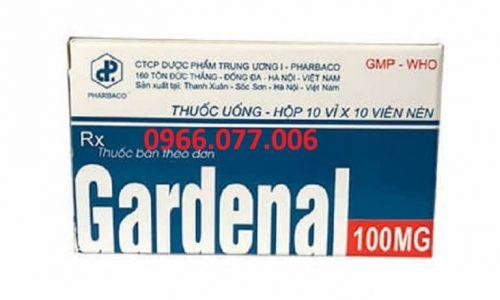 Thuốc Ngủ Gardenal 100mg: Thành Phần, Liều Dùng, Địa Chỉ Mua