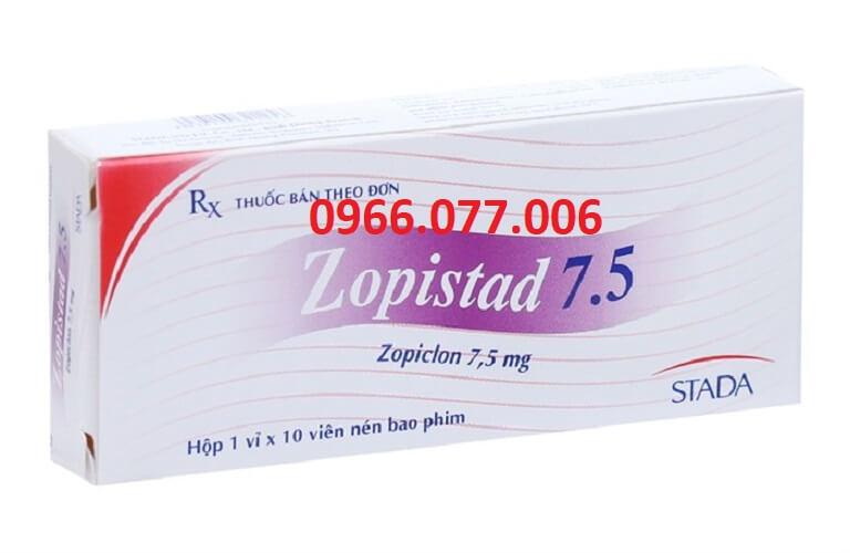 Thuốc ngủ Zopistad 7.5