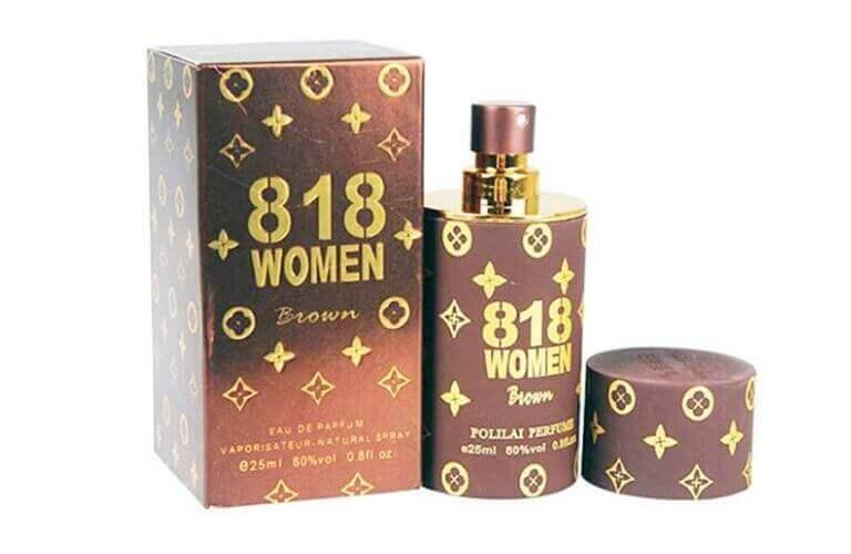 Nước hoa kích dục 818 Women Brown dòng sản phẩm cao cấp kích dục nhanh, mạnh