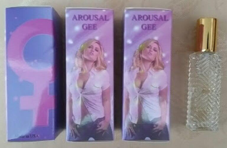 Nước hoa kích dục nữ Arousal Gee