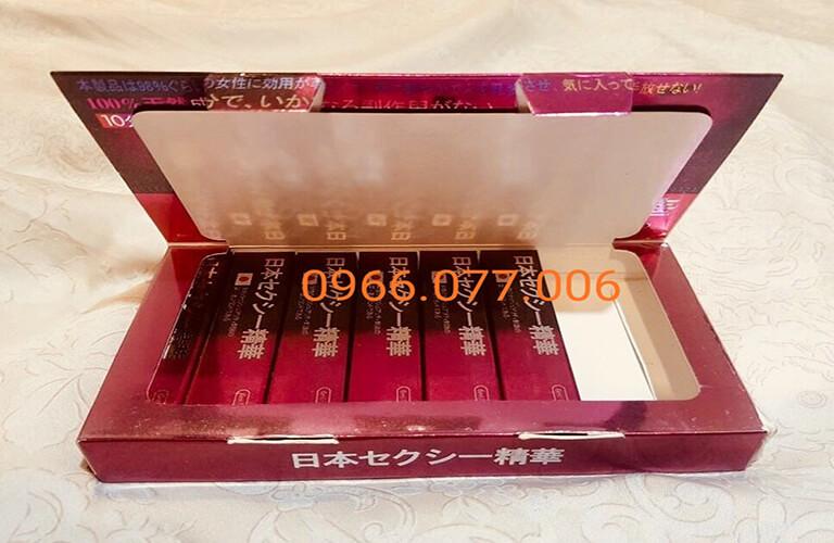 Thuốc kích dục nữ chính hãng Nhật Tím tại Thông Tin Thuốc 247