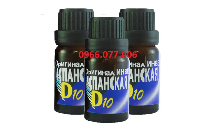 Thuốc d10 không gây tác dụng phụ