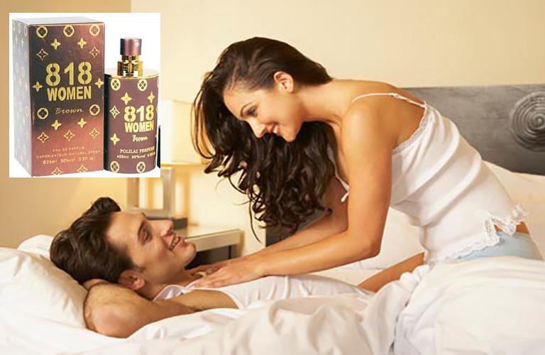 Nước hoa kích dục nữ 818 Women Brown thật sự làm tăng ham muốn, giúp người dùng có được một cuộc ân ái đạt được sự thỏa mãn và hưng phấn