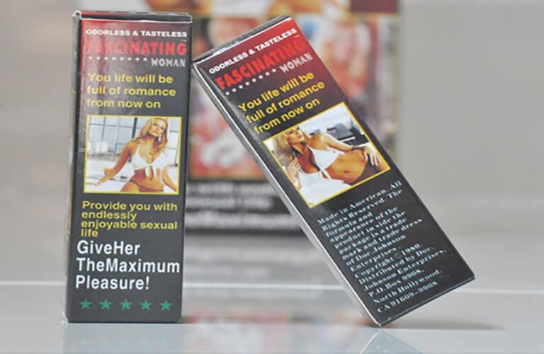 Thuốc kích dục Fascinating Woman là giải pháp hữu hiệu giải quyết các vấn đề liên quan đến chuyện chăn gối